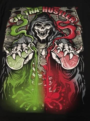 Image of JP THA HUSTLER TALL T-SHIRT - Return of the Mad Scientist