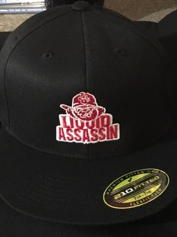 Image of LIQUID ASSASSIN MULATTO FLEX FIT HAT