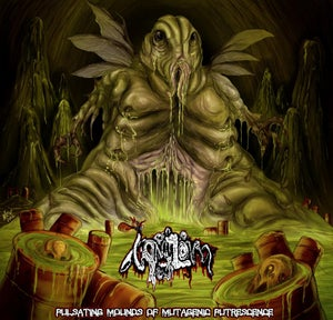 "Image of Vomitoma ""Pulsating Mounds Of Mutagenic Putrescence"" CD"