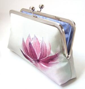 Image of Astrantia flower clutch bag