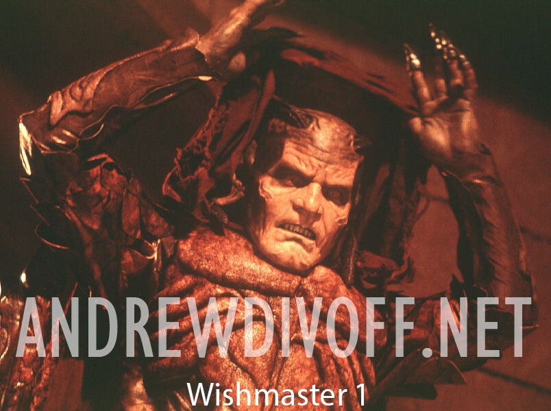 Image of Wishmaster Signed 8x10 Photo (select which image you want)