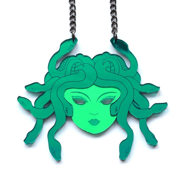 Image of Medusa Necklace or Brooch
