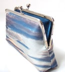 Image of Sunset silk clutch