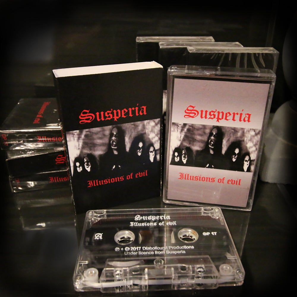 Image of Susperia - Illusions of evil - 1999 Demo Cassette