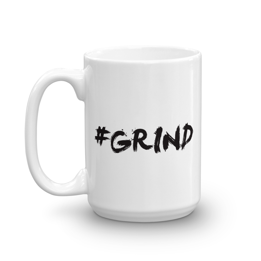 Image of #Grind Coffee Mug