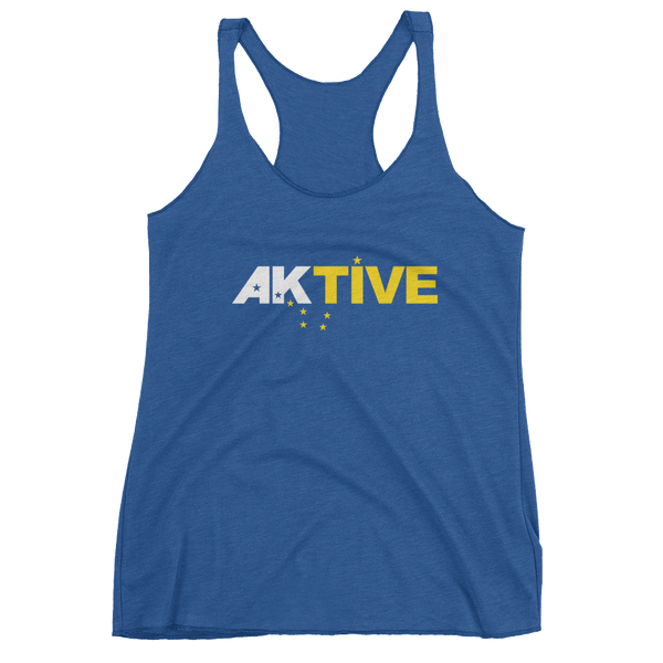 Image of Women's AKtive Tank - Blue