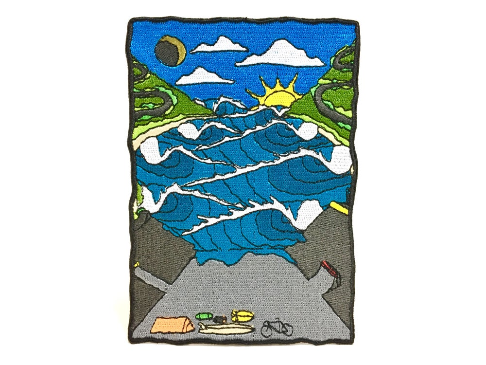 "Image of MackYo x Ditch Life ""Dream Land"" Patch."