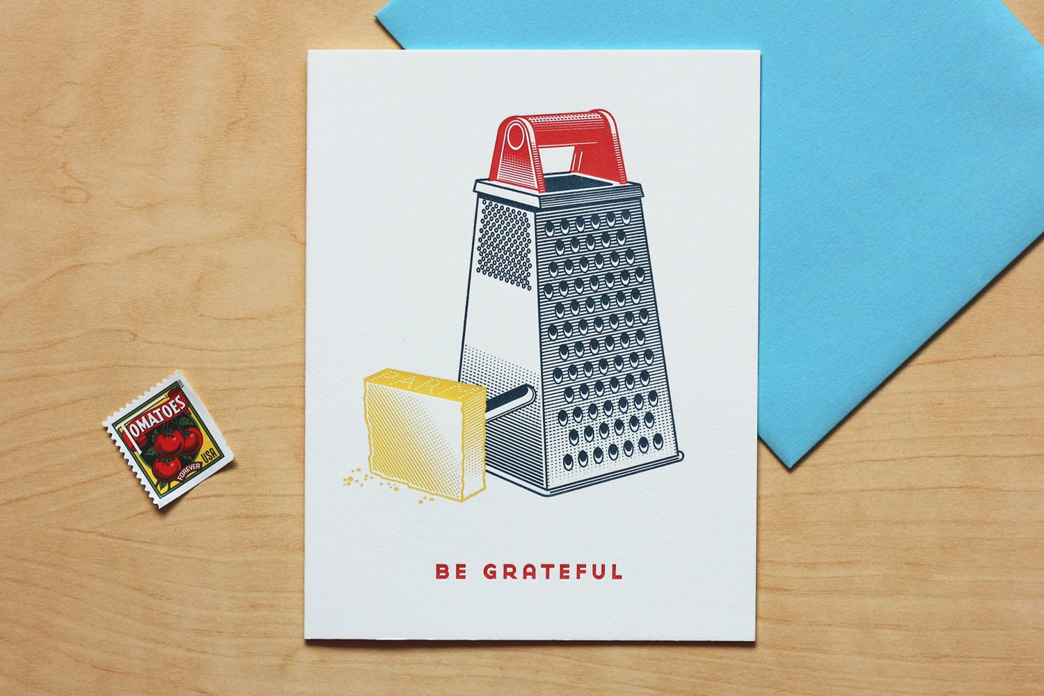 "Image of ""BE GRATEFUL"" Card"