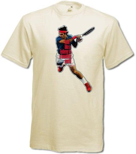 Image of Camiseta float like a Federer t-shirt