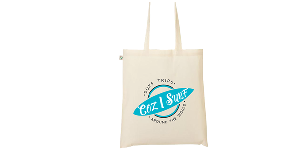 Image of Tote Bag Coz I Surf