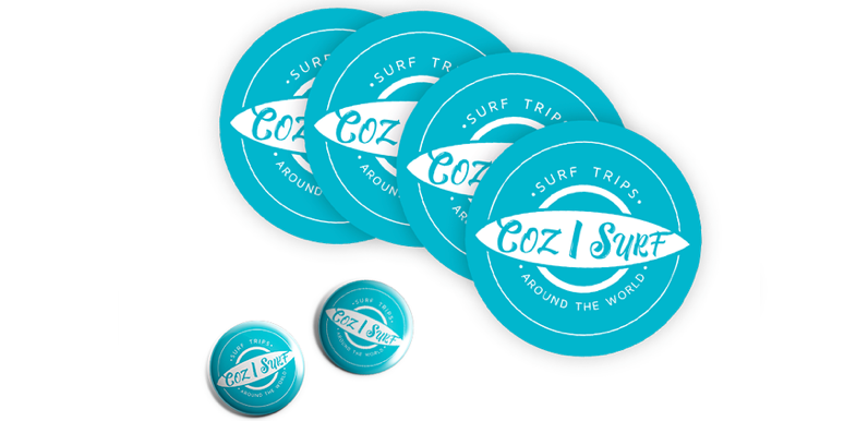 Image of Stickers & Badges