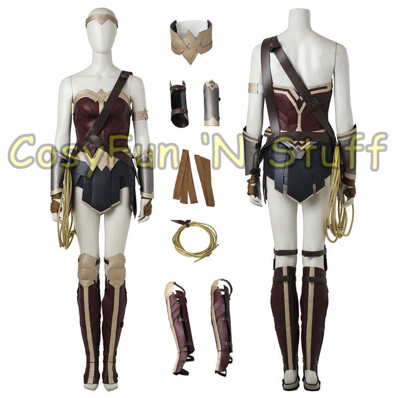 Image of Custom Size Wonder Woman Justice League Batman Superman Dawn of Justice Costume