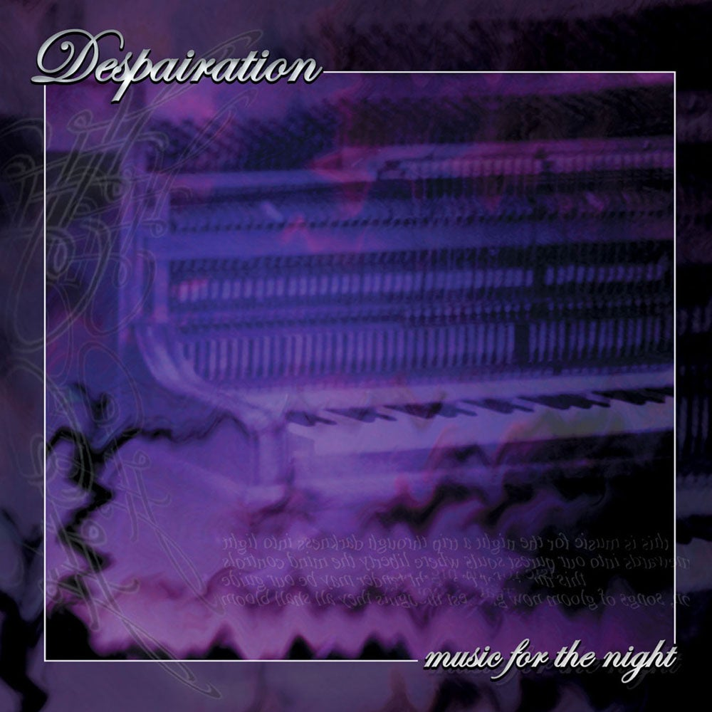 "Image of DESPAIRATION ""Music For The Night"" CD"
