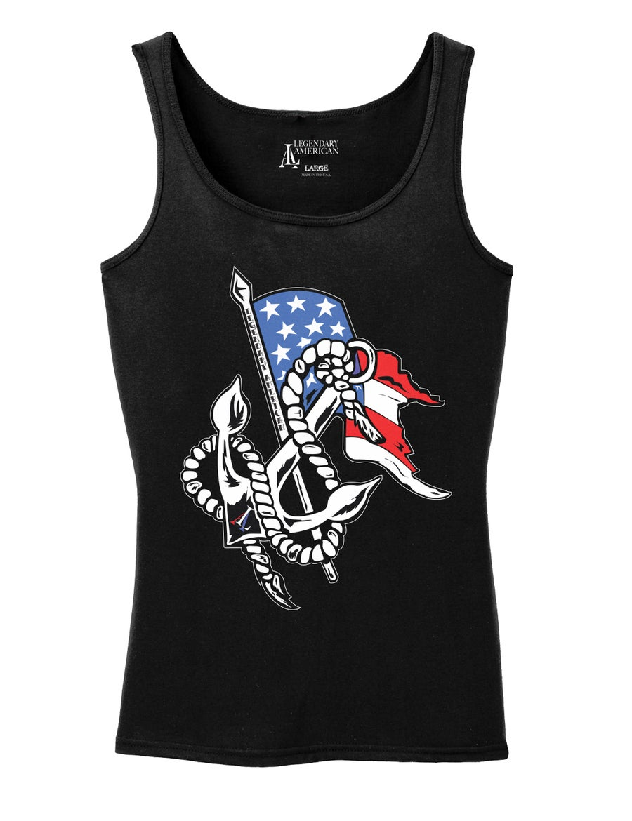 Image of Legendary American Womens Anchor tank top