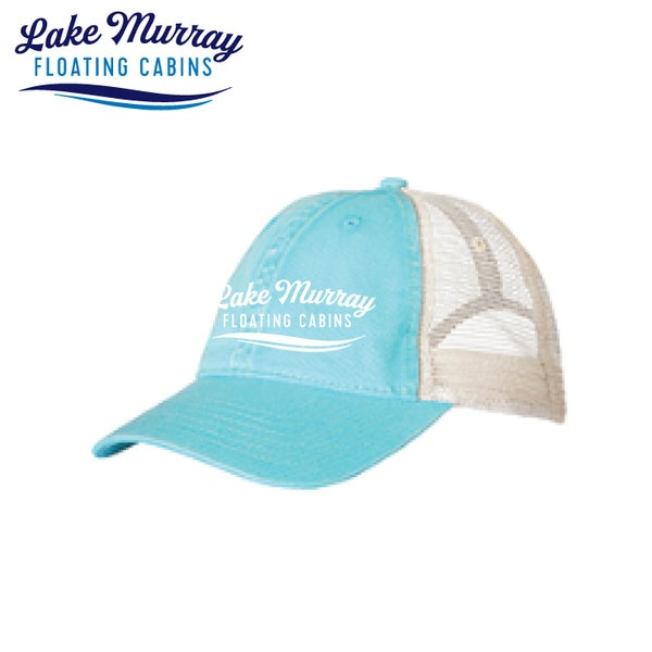 Image of LMFC- LAGOON BLUE COMFORT COLORS MESHBACK HAT