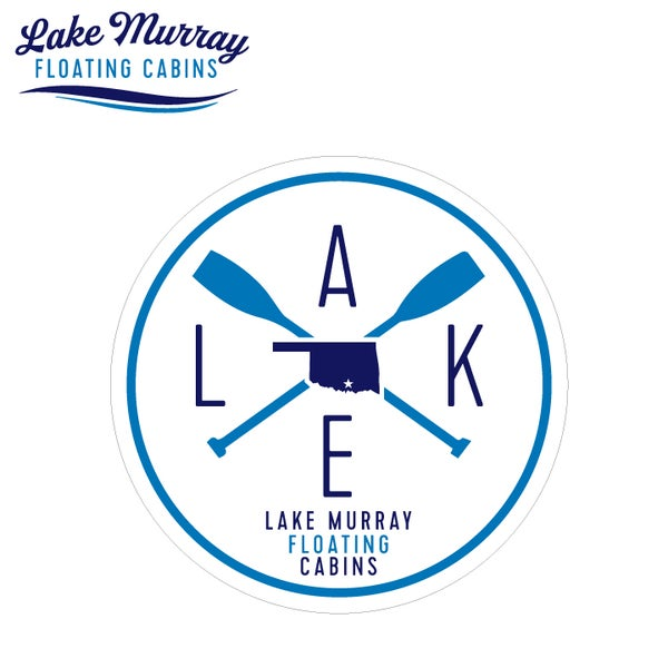Image of LMFC- OUTDOOR UV ROUND LAKE DECAL
