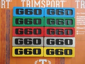 Image of Trimsport VW Golf Mk2 G60 Side Badges