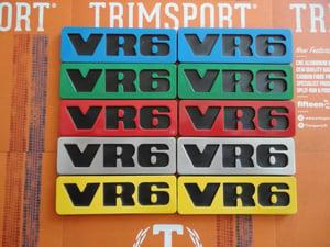 Image of Trimsport VW Golf Mk2 VR6 Side Badges