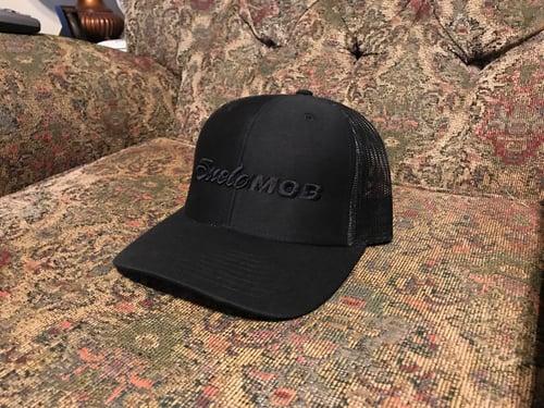 Image of Black On Black SueloMob Snapback