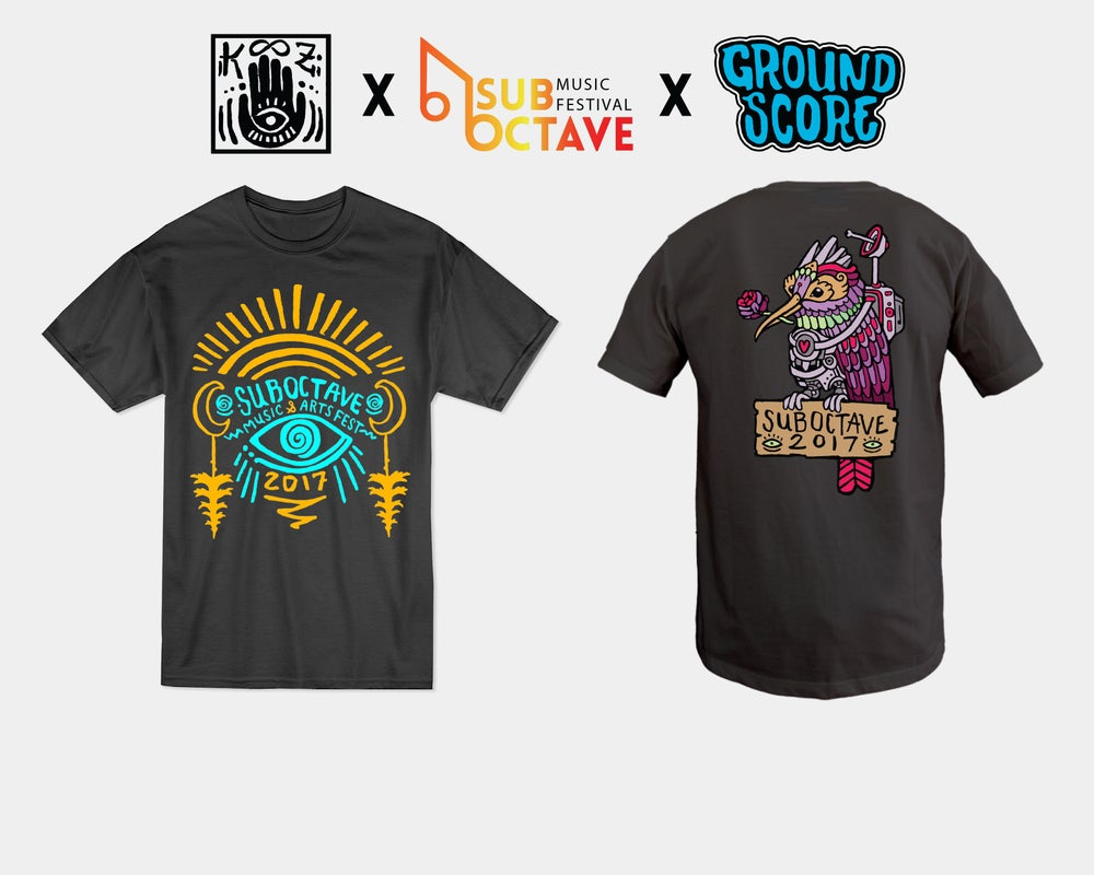 Image of Official Suboctave Music Festival T-Shirt (LE 60)