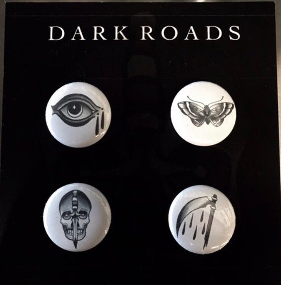 Image of 4 Buttons pin set