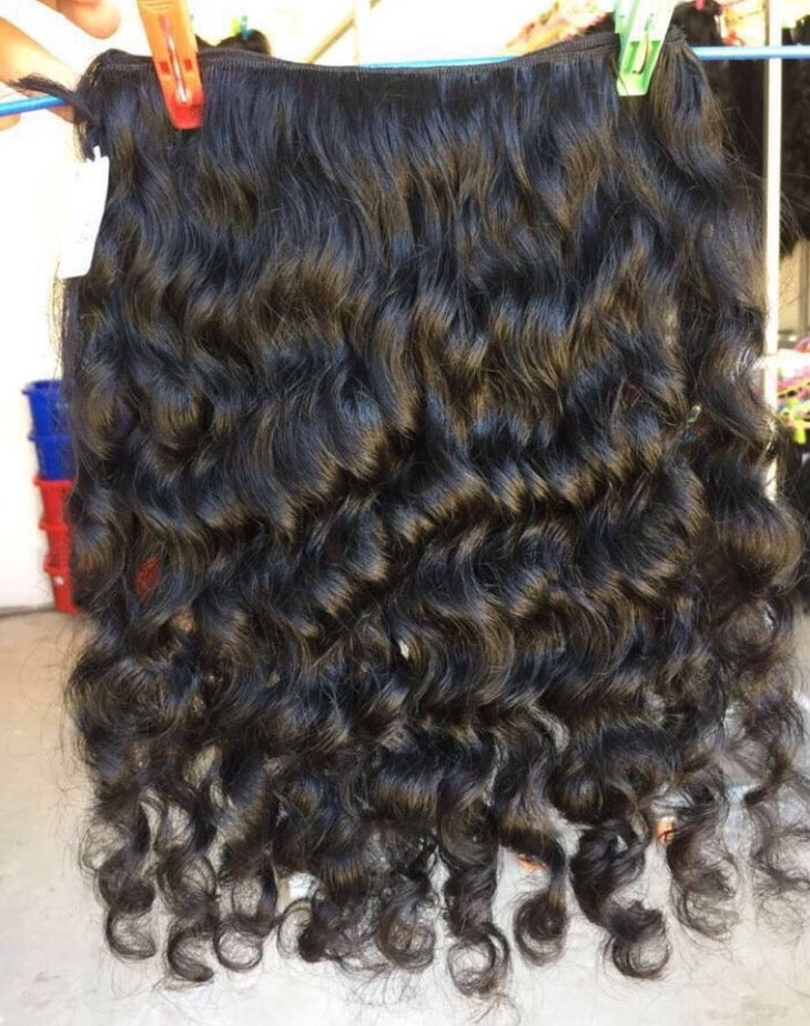Image of RAW CAMBODIAN WAVY, CURL
