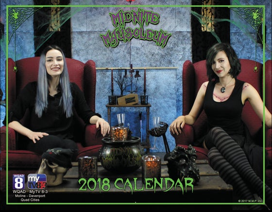 Image of Midnite Mausoleum 2018 Photo Calendar