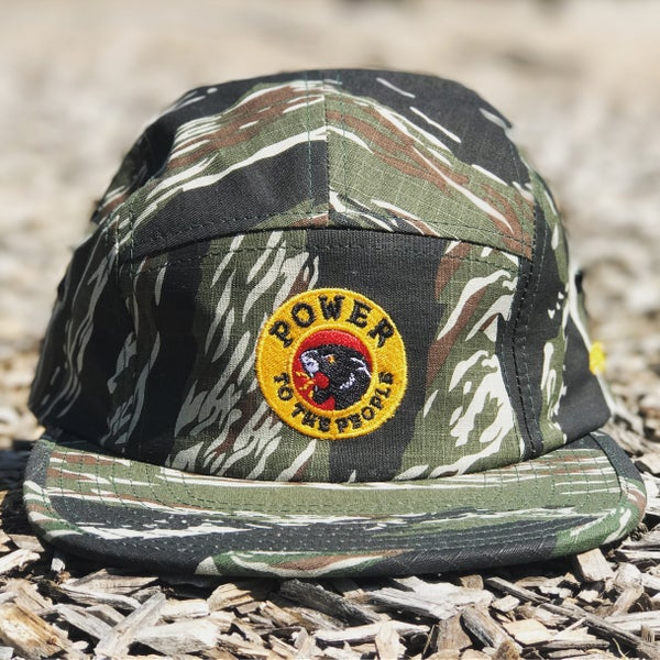 """Image of The """"Power To The People"""" Hat in Tiger Camo"""