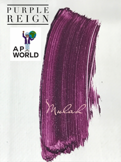 Image of AP World Purple Campaign
