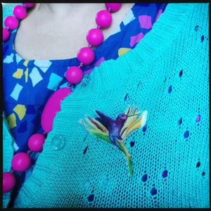 Image of Hummingbird Brooch