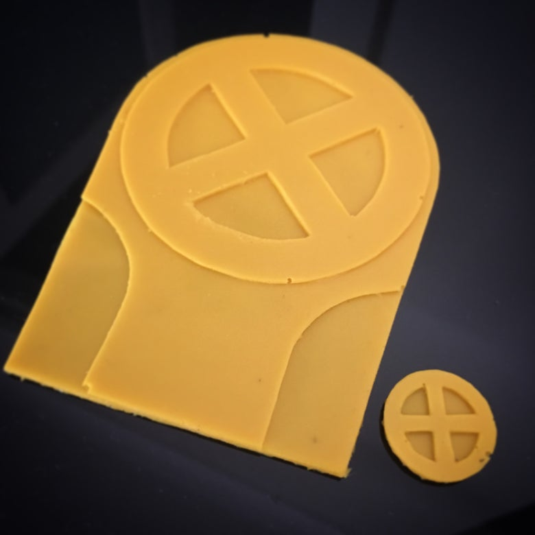 Image of Negasonic Teenage Warhead's Crests - Deadpool