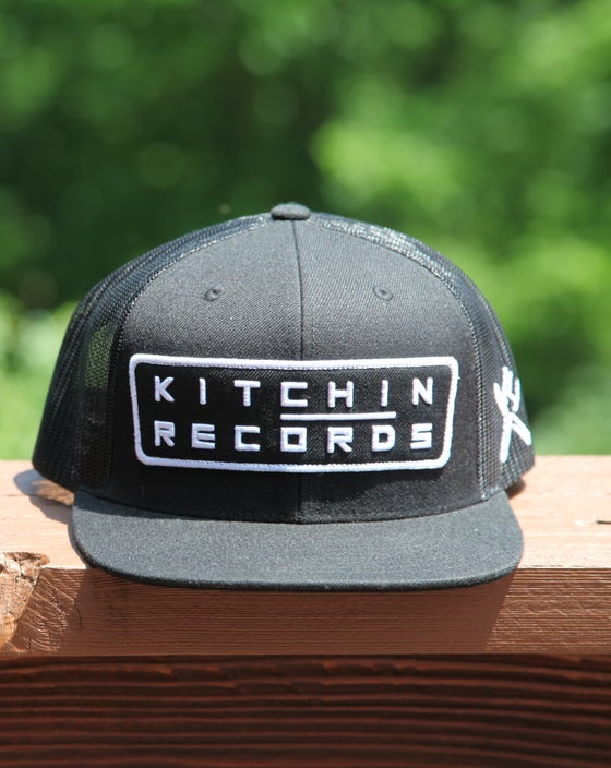Image of Kitchin Records Snapback (Black)