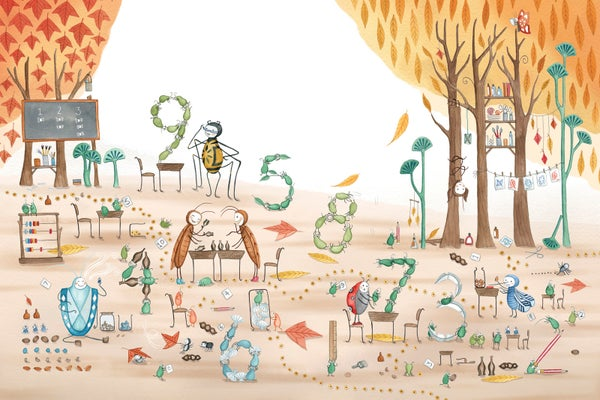 Image of The Counting Lessson, Twig, giclee print