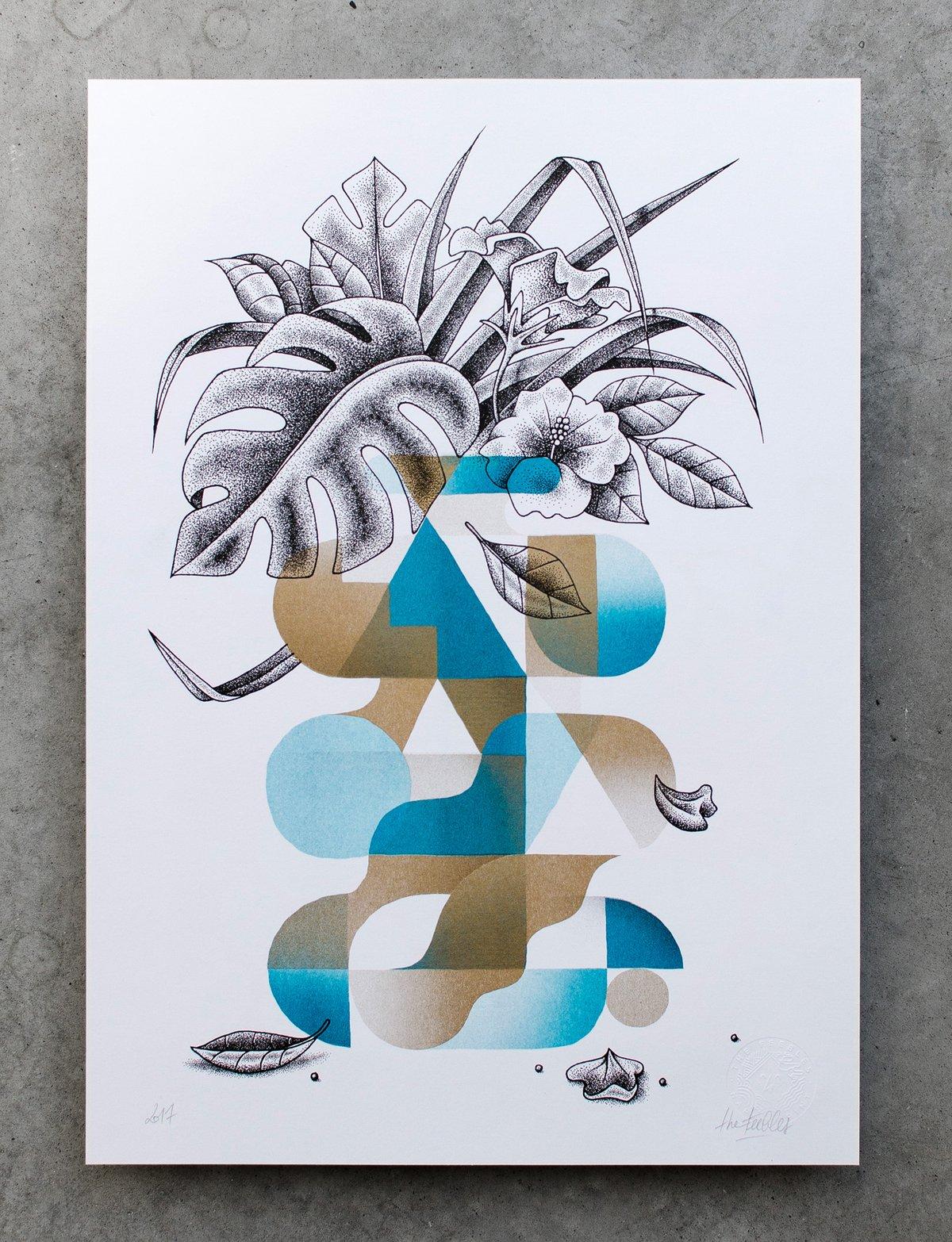 Image of Vase bleu
