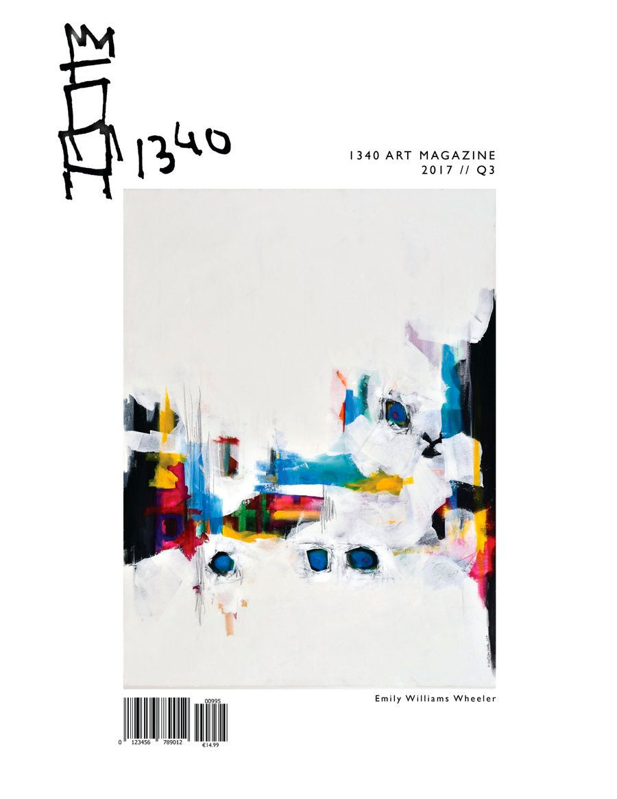 Image of PREVIOUS EDITION:<br>1340ART Magazine (Q3 2017)