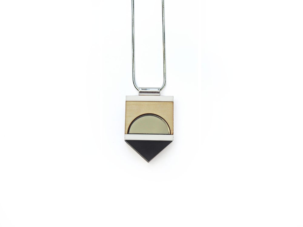 Image of Form Necklace - Bronze