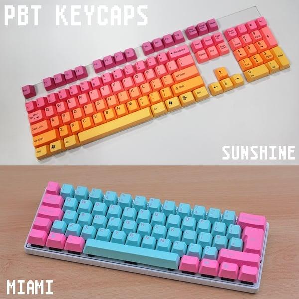 Image of Tai Hao PBT Doubleshot Keycaps [ISO-UK / ANSI]