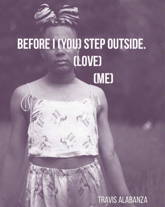 Image of 'Before I Step Outside [You Love Me]' - chapbook.