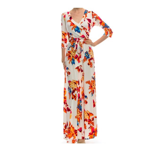 Image of Aubrey Wrap Dress