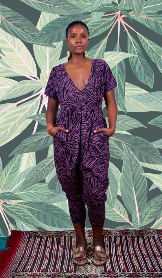 Image of •JéJé• Leisure Jumpsuit: safari