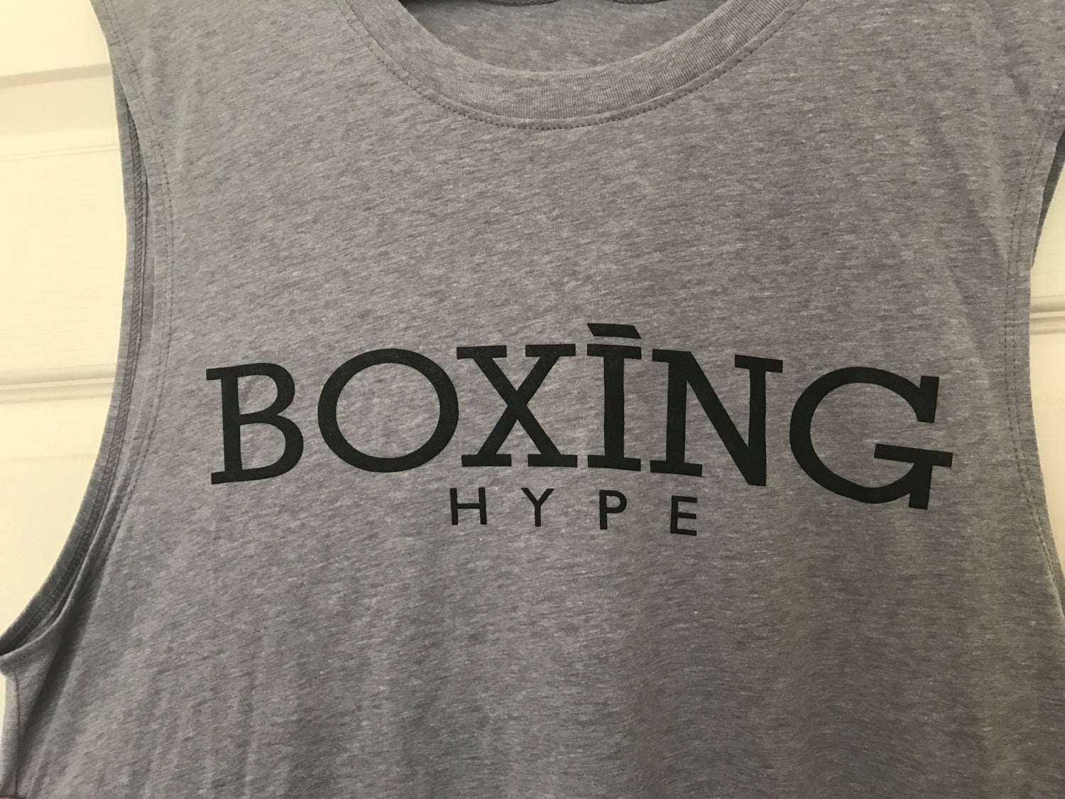 Image of Men's BoxingHype cutoff muscle tees