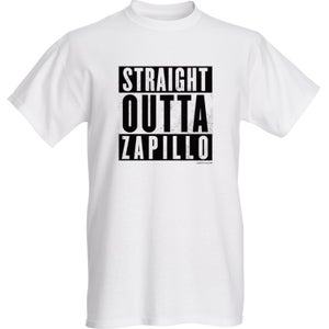 Image of Straight Outta Zapillo - Camiseta Blanca Unisex