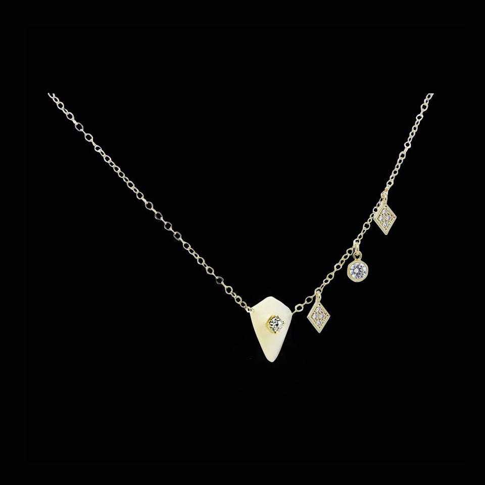 Image of Mother of Pearl Constellation Necklace
