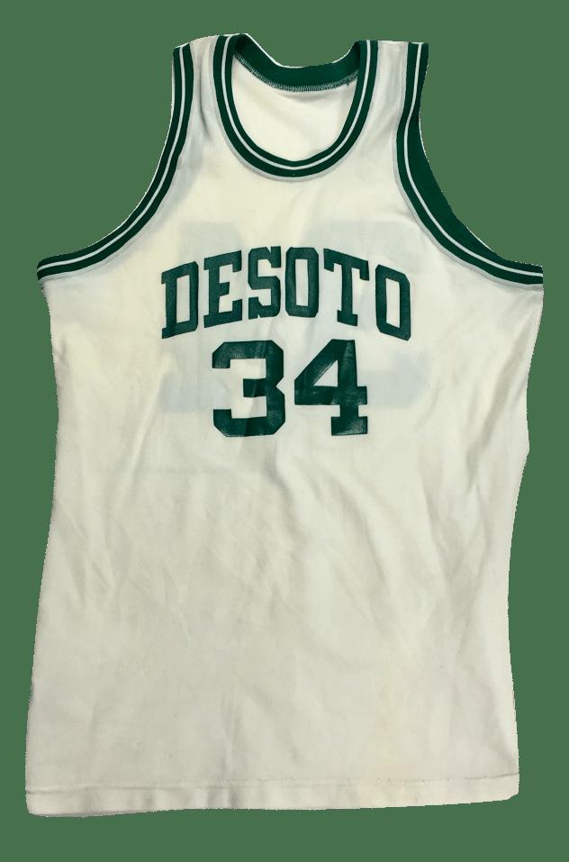 Image of Vintage Desoto basketball jersey