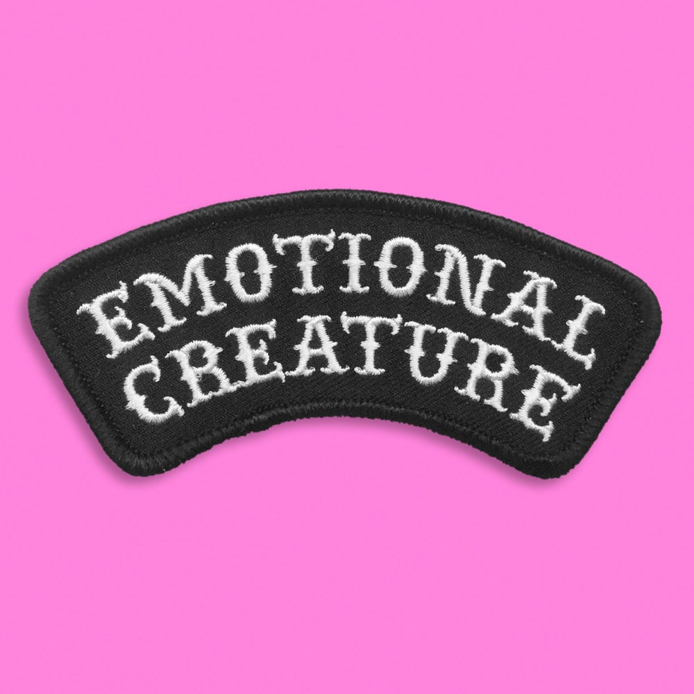 "Image of ""EMOTIONAL CREATURE"" PATCH"