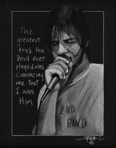 Image of Eyedea Lyrics 11x14 Print