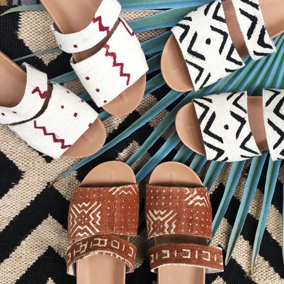 Image of •Yinka• slide sandal