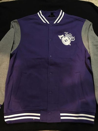 Image of LSP PURPLE VARSITY JACKET