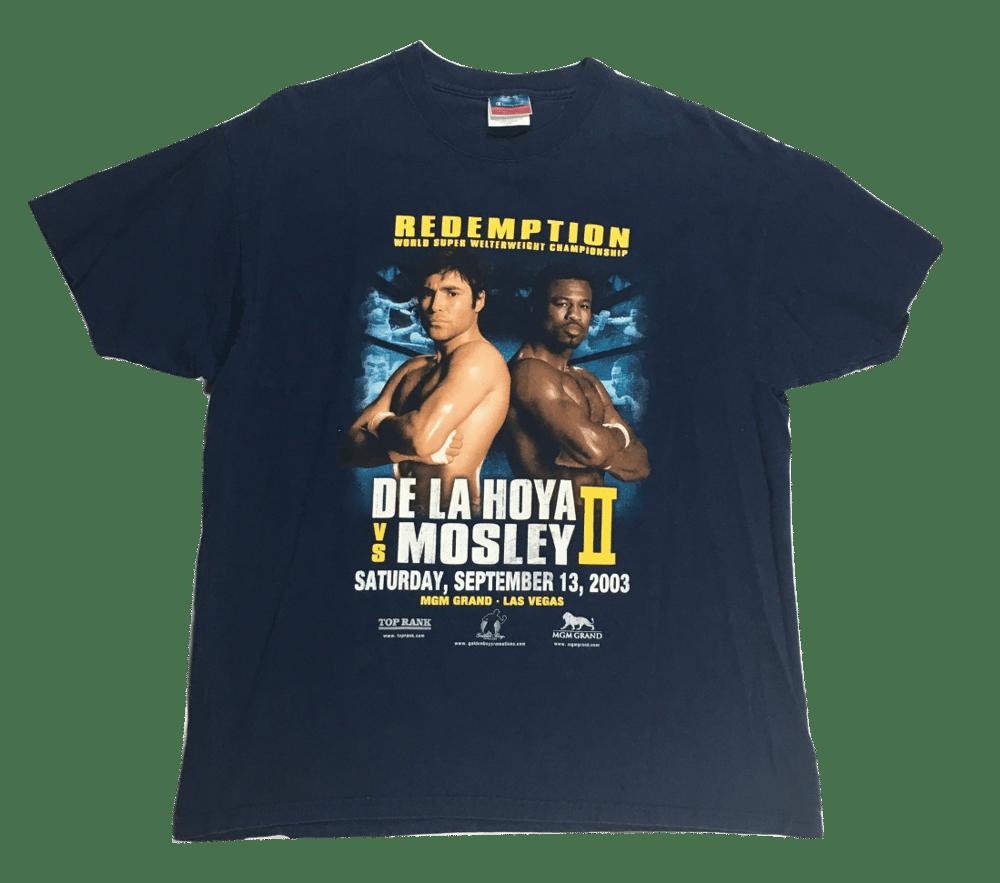 Image of Vintage Oscar DE La Hoya Vs. Sugar Shane Mosley 2 Shirt