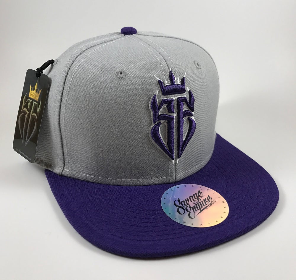 Image of Grey & Purple SE Hats